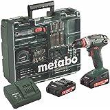 Metabo BS 18Quick Set Perceuse-visseuse sans fil 18V/2,0Ah, Atelier mobile 602217880