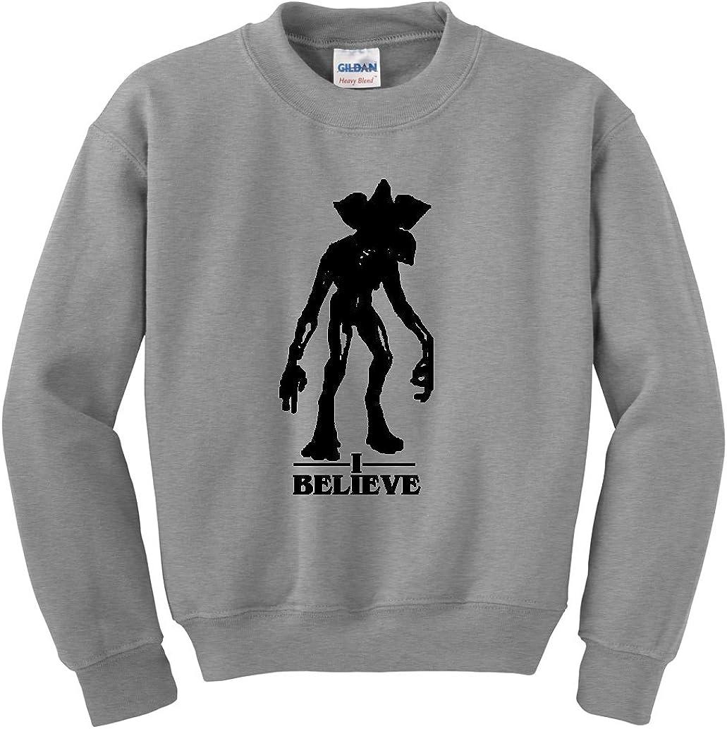 Unisex NuffSaid Believe Demogorgon Crewneck Sweatshirt Sweater Pullover
