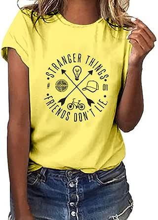 Xinantime Camisas de Manga Larga, Camiseta Mujer Blanca ...