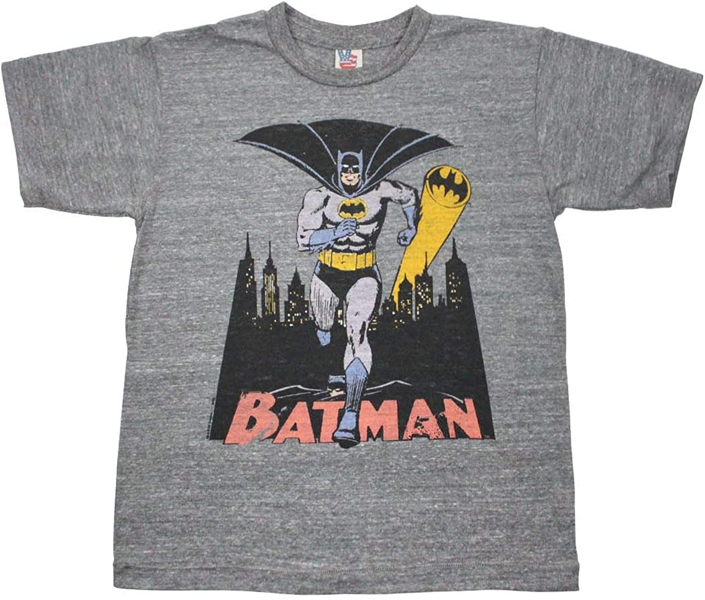 Junk Food Batman Bat Signal Kid's T-Shirt