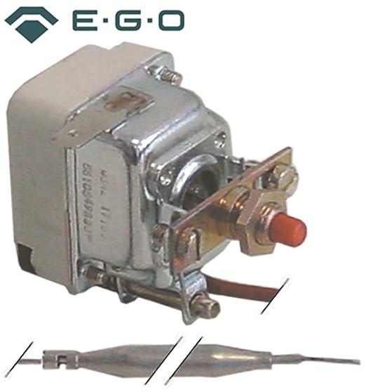 gico Seguridad Termostato EGO Tipo 55.19549.030 para fritura, Bain de Marie, vitrocerámica