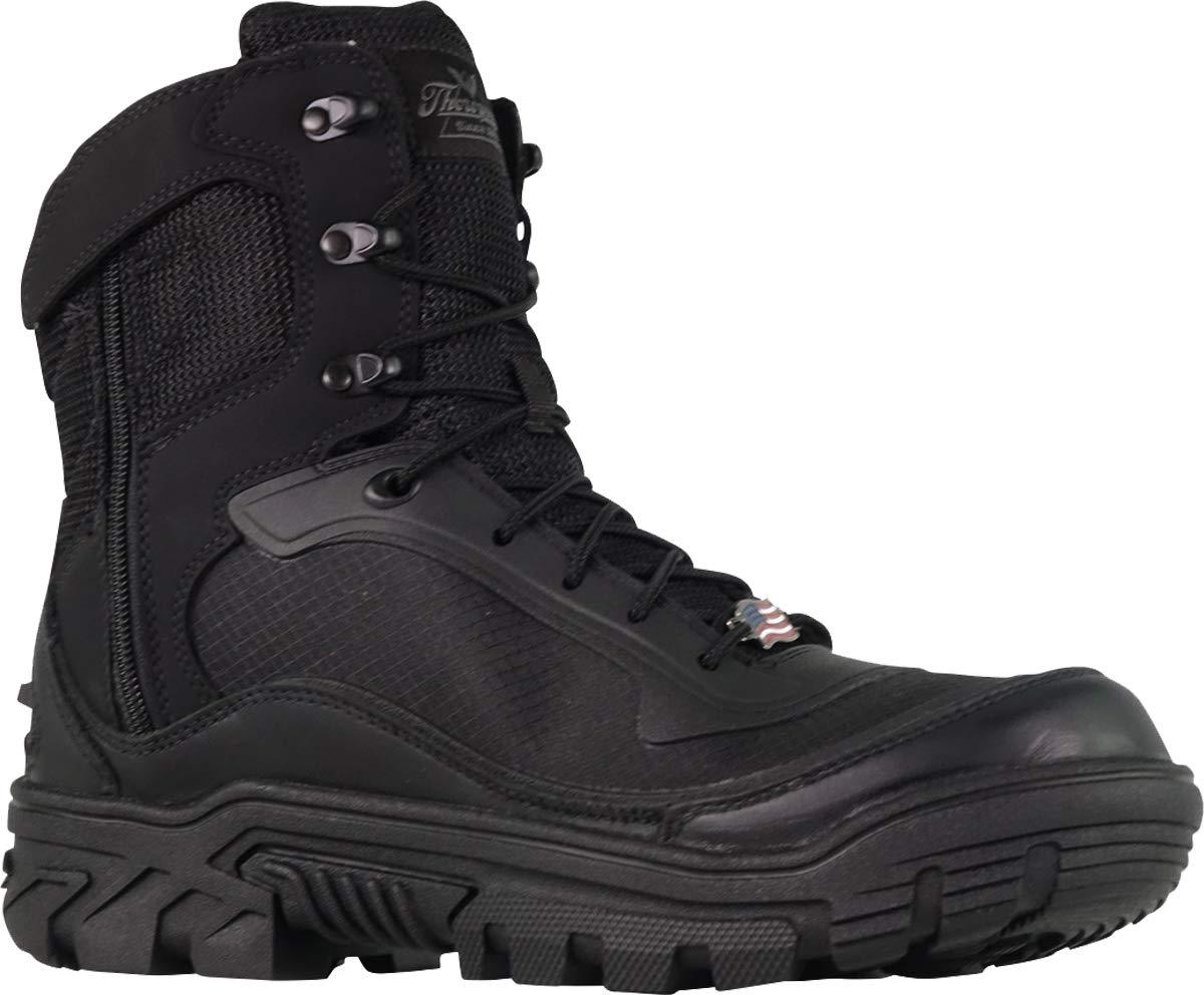 Thorogood 834-6016 Men's Veracity GTX - 7'' Waterproof Tactical Side-Zip Boot, Black - 11 D(M) US by Thorogood