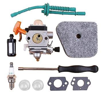 F-blue Reemplazo para Stihl FS87 FS90 FS87R FS90K / R FS100 ...