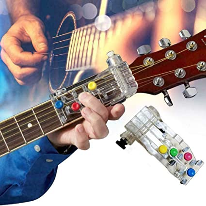 TEEWAL Asistente de Guitarra Acorde, Asistente para Tocar Acorde ...