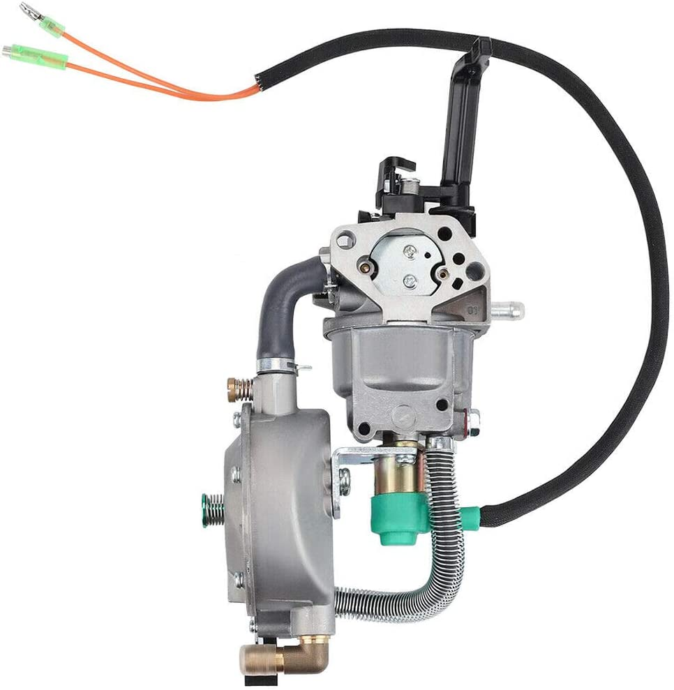 Carburetor For Champion CPE 100155 Generator with Manual Choke Lever gas fuel
