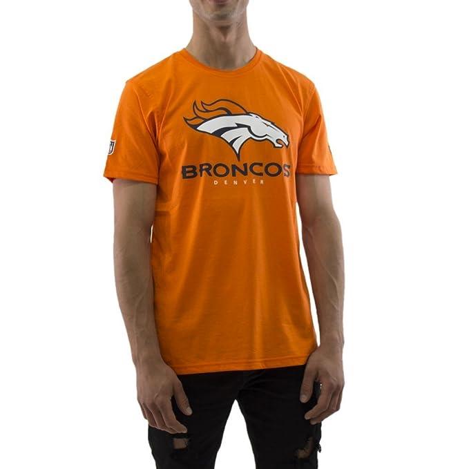 New Era NFL Denver Broncos Dryera T-Shirt Men Orange  Amazon.co.uk  Clothing b3e7fc0b7