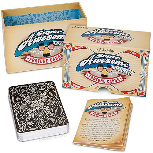 Super Awesome Future Fortune Telling Cards 36 Pack by Archie McPhee