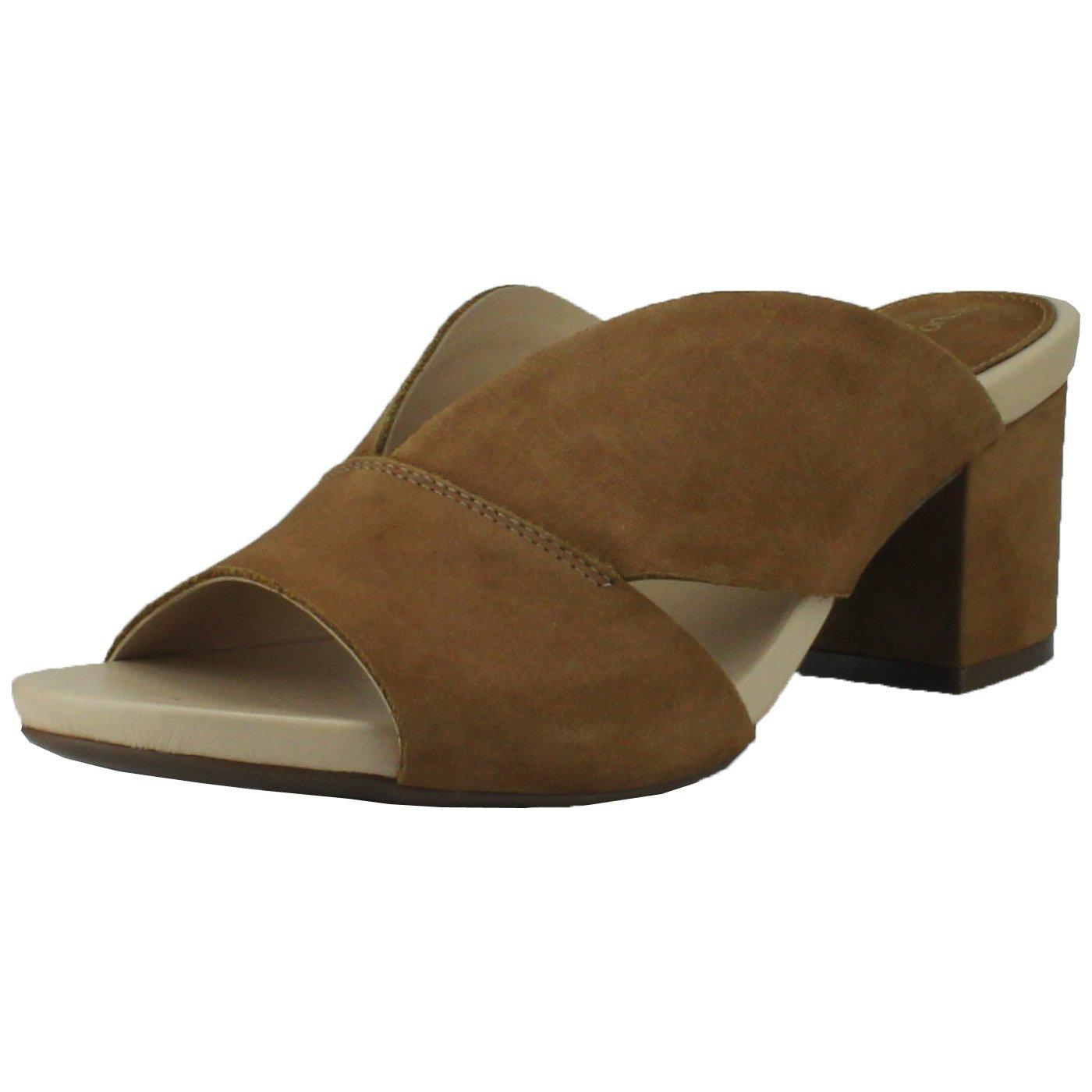 Bruno Menegatti Leather Slide Sandal, 9 US by Bruno Menegatti