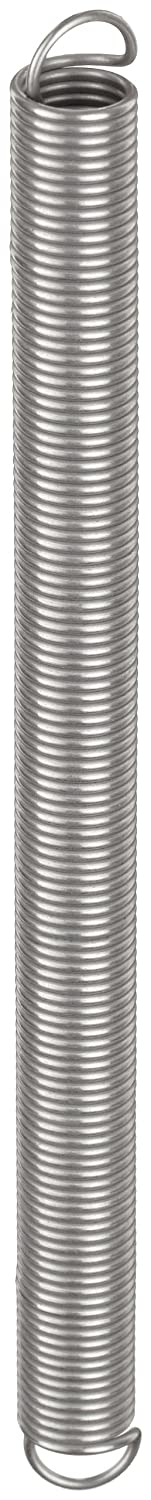 6.58 lbs//in Spring Rate 1.37 Extended Length 2.85 lbs Load Capacity Pack of 10 1 Free Length Inch Extension Spring 0.36 OD 0.36 OD 0.037 Wire Size 1 Free Length 1.37 Extended Length E03600371000X 0.037 Wire Size 316 Stainless Steel
