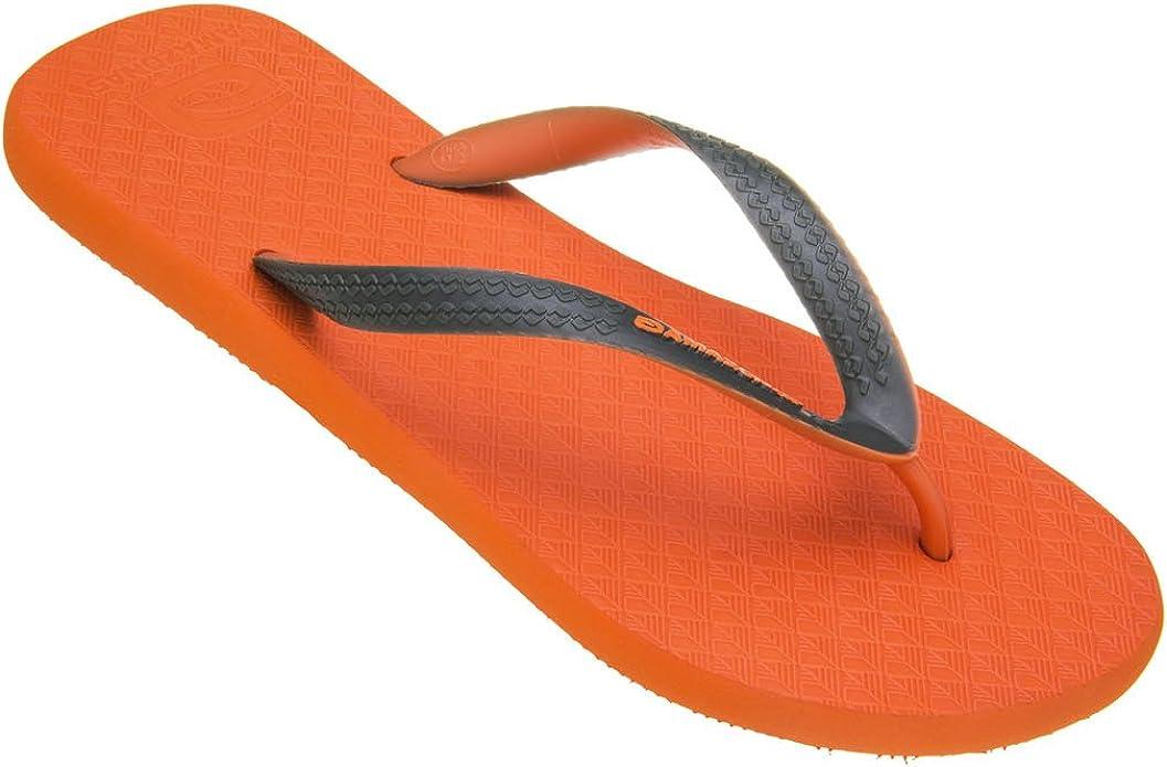 Chanclas Amazonas Colores de la Diversión de Naranja y de Color Caqui: Amazon.es: Zapatos y complementos