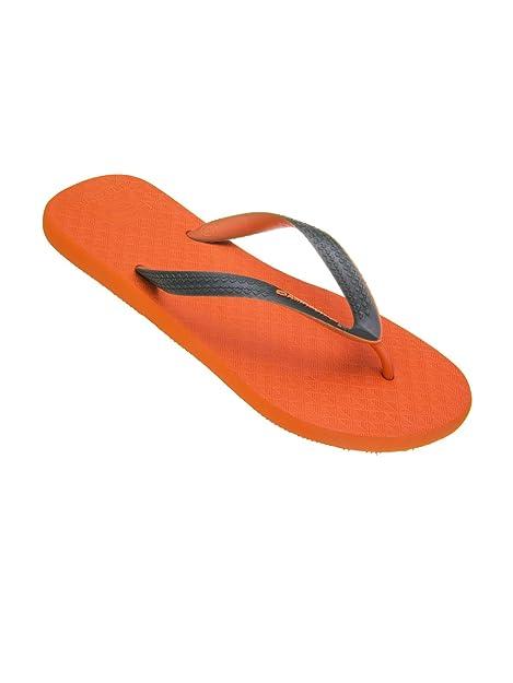 Chanclas Amazonas Colores de la Diversión de Naranja y de color Caqui