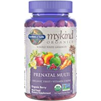 Garden of Life - Mykind Organics Prenatal Multi Whole Food Gummies Berry - 120 Gummies, 1 Units