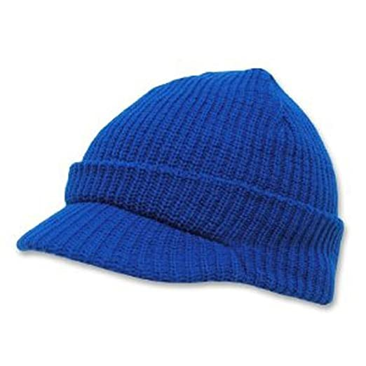 9477f4562d5 Image Unavailable. Image not available for. Color  Decky Men s Knit Jeep Watch  Cap Visor Beanie (2 Pack)