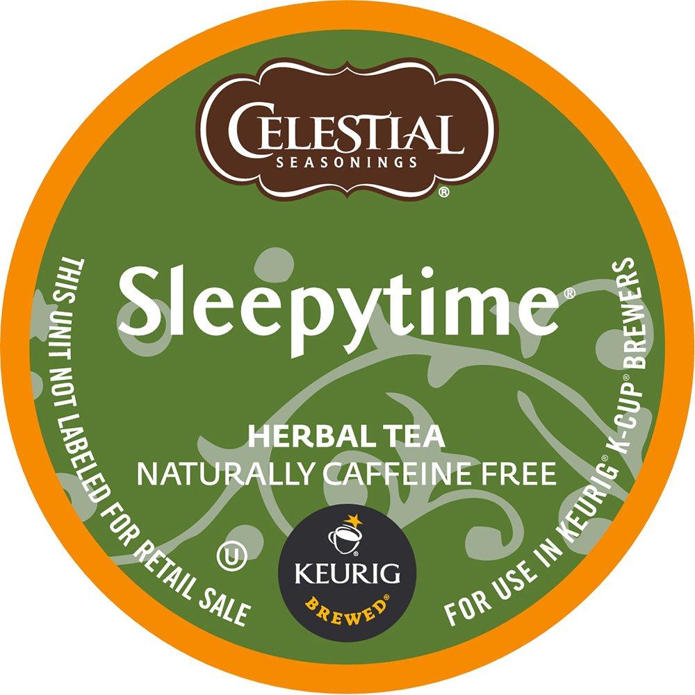 Keurig, Celestial Seasonings, Sleepytime Herbal Tea, K-Cup packs, 50 Count