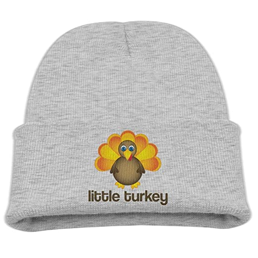 9426b1d1a23 Amazon.com  Rhfjgk Ldjg Little Turkey Skull Hat Beanies Cap 0-3 Old ...