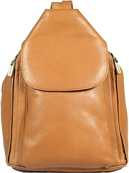 a2589392d874 New girls ladies gorgeous Visconti tan sand soft leather backpack bag style  18357. Back. Double-tap to zoom