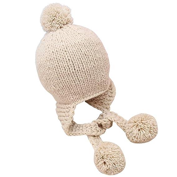cd69de37 Petit Tourbillon Children Winter Hat Knitted Caps Warm Beanies Skullies:  Amazon.ca: Clothing & Accessories