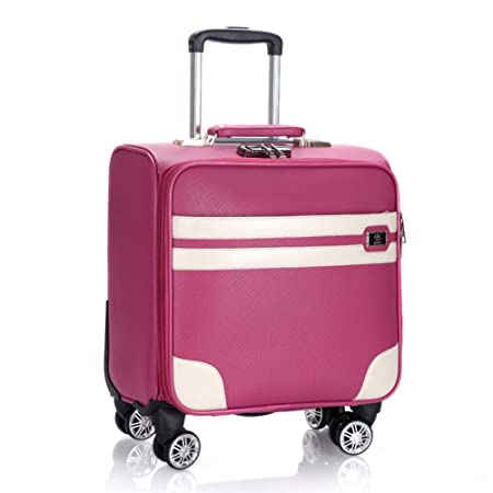 18 inch PVC Waterproof Travel Carry On Cabin Hand Luggage Suitcase