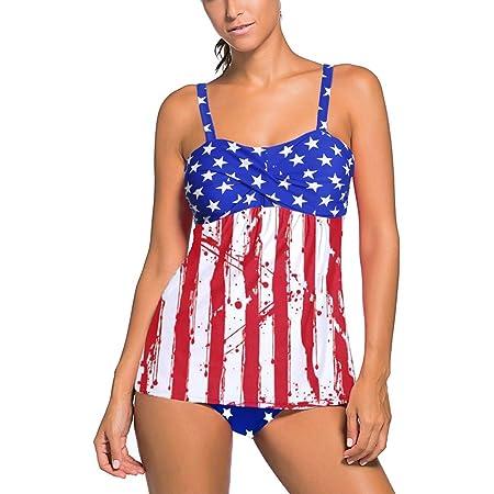Bikini para Mujer Conjunto Traje De Baño Dividido Europa Y América ...