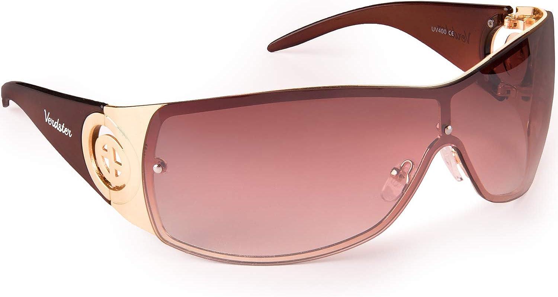 Gafas de Sol para Mujer Verdster Cosmo – Gafas de Sol Grandes para Mujer de Visera con Escudo - Montura Grandes Envolvente con Protección UV