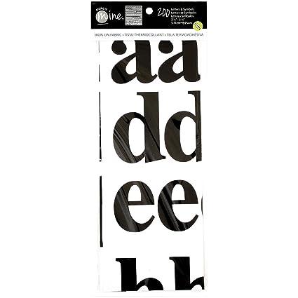 Amazon Alphabet Lowercase Iron On Fabric Letters Symbols
