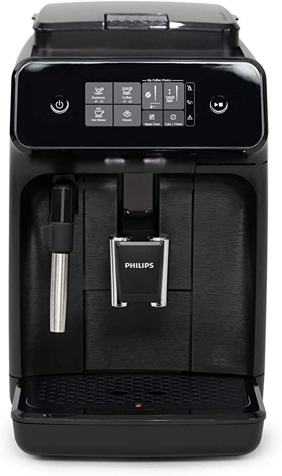 Amazon.com: Philips Carina 1200-Series Compact Super-Automatic All-In-One Programmable Espresso Machine (EP1220/04): Kitchen & Dining
