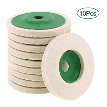 Superb 10Pcs 4 Inch Wool Polishing Wheel Wear Resistant Angle Ocoug Best Dining Table And Chair Ideas Images Ocougorg