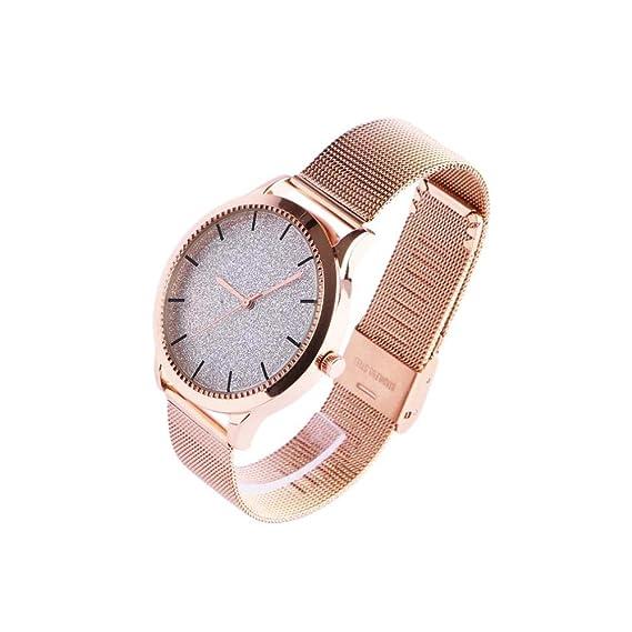 Reloj Mujer Doree Brillantes Gris Plata Pulsera Milanais Mysia – Mujer