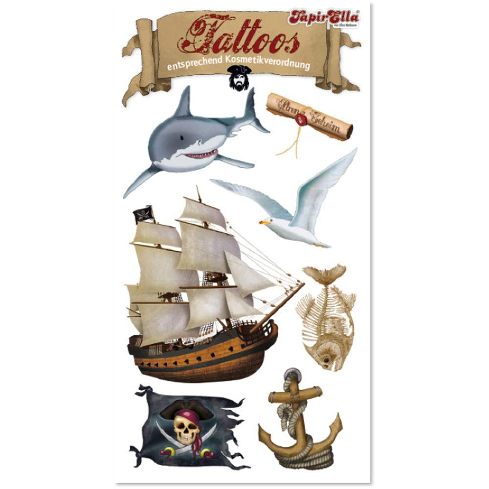 Lutz Mauder Tatuajes * Piratas Barco * Vom Mauder   44673 ...