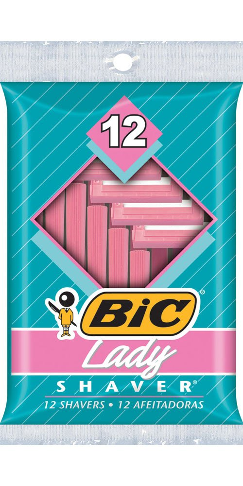 Bic Lady Shavers 12 ea (Pack of 2) BIC CORPORAT