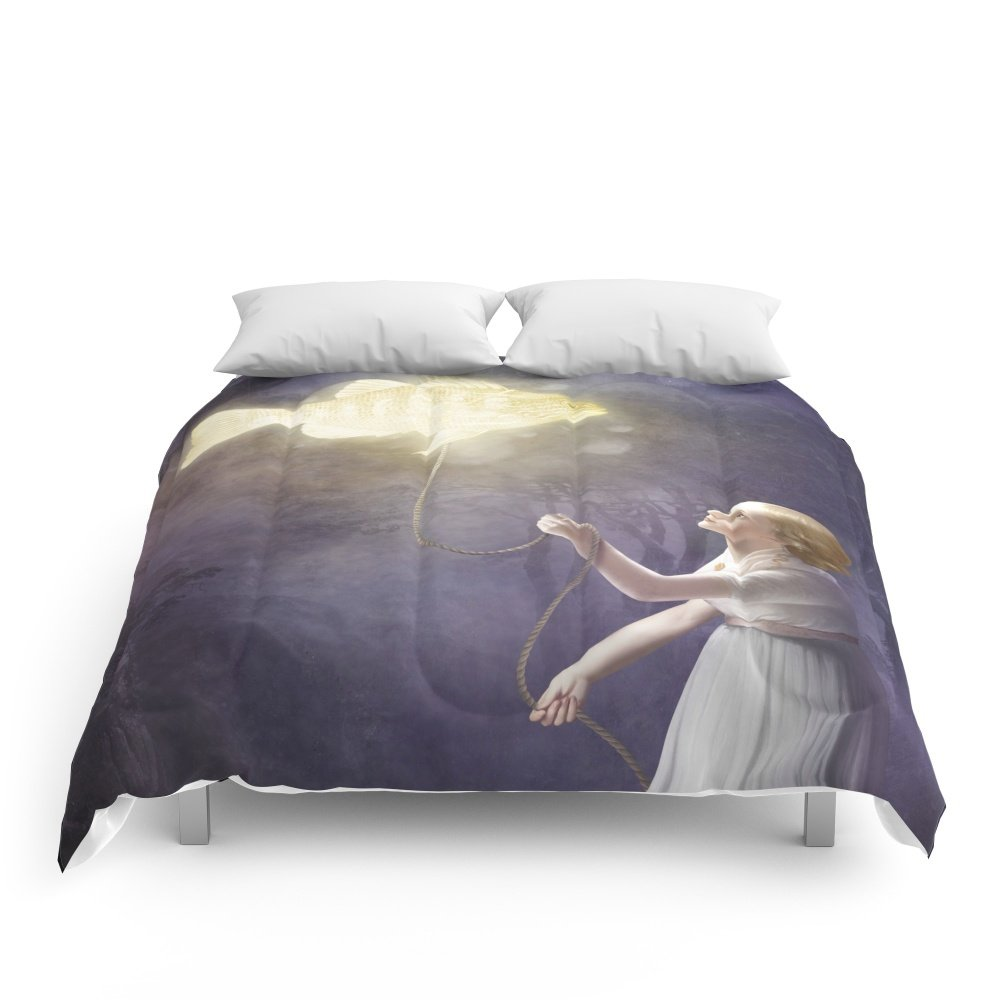 Society6 Long Way Home Comforters Queen: 88'' x 88'' by Society6