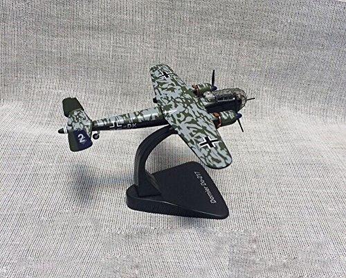 FloZ WWII German Dornier Do 217 Bomber Aircraft 1/144 Plane diecast Model