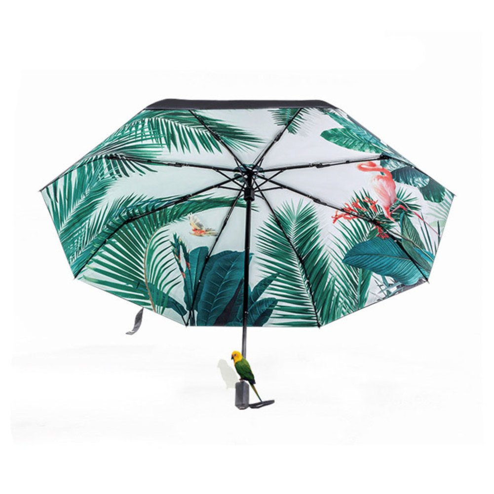 Fine Art 3 Folding Parasol Sun Protection Anti-UV Umbrella for Women by TANDS (Image #1)
