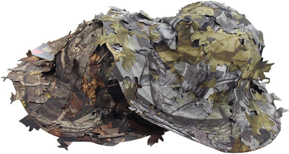 CYBERDYER Hombres de camuflaje selva Sniper hojas camuflaje ...