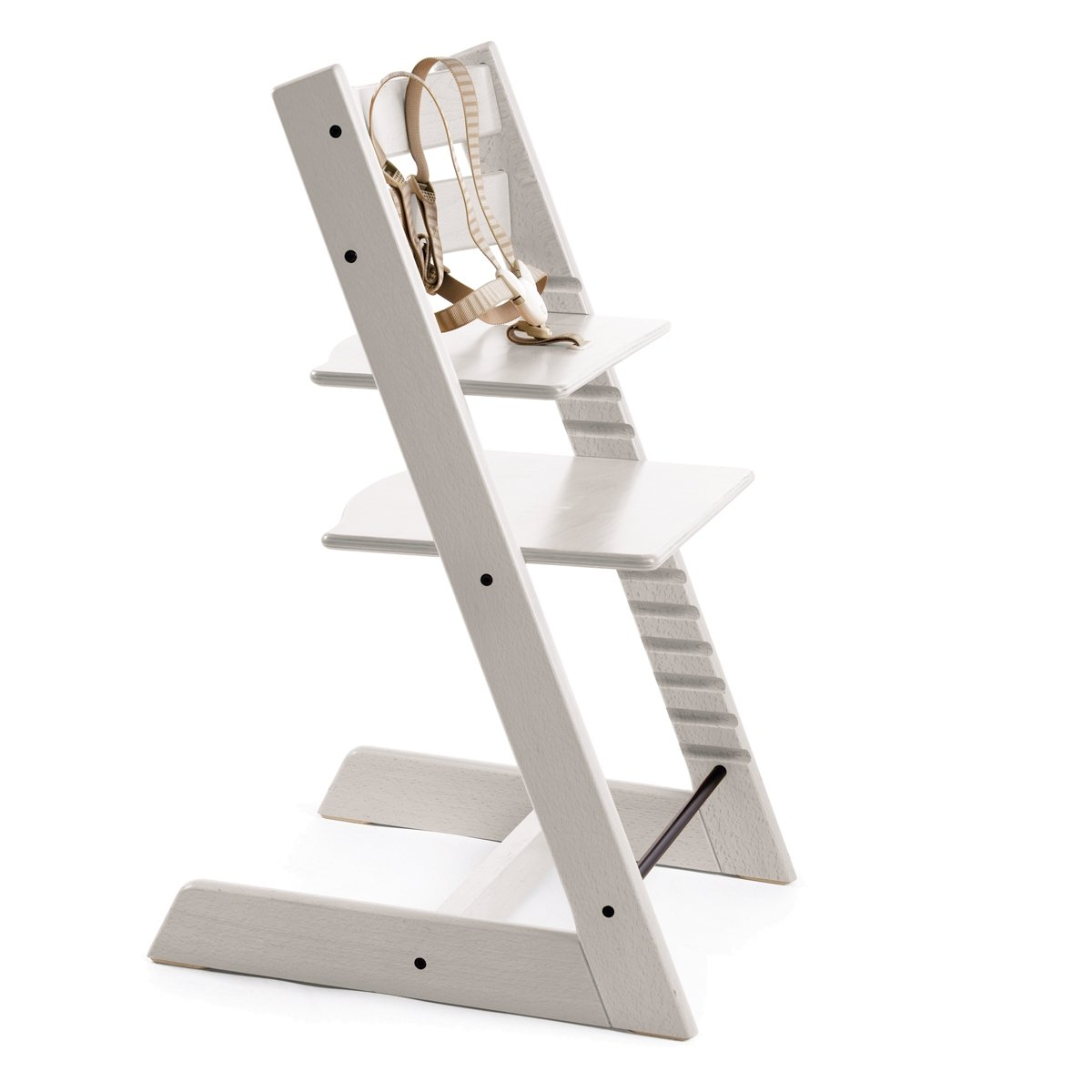 puckdaddy high white en triptrapp stars trap stokke cushion tripp for trapp highchair trip chair
