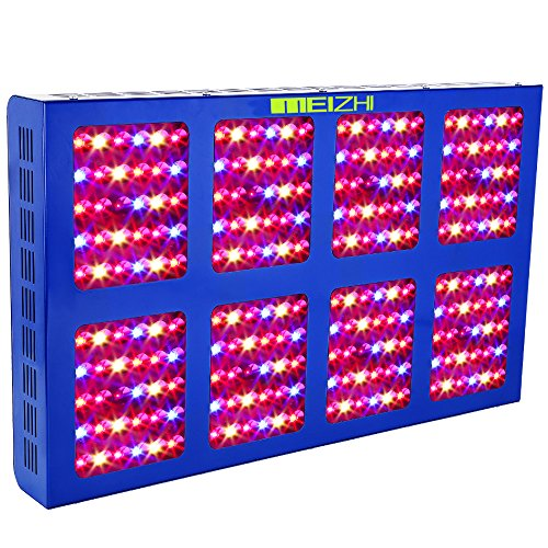 MEIZHI Reflector Series 1200W LED Grow Light Full Spectrum for Indoor Plants Veg and Flower Dual Growth Bloom Switches by MEIZHI