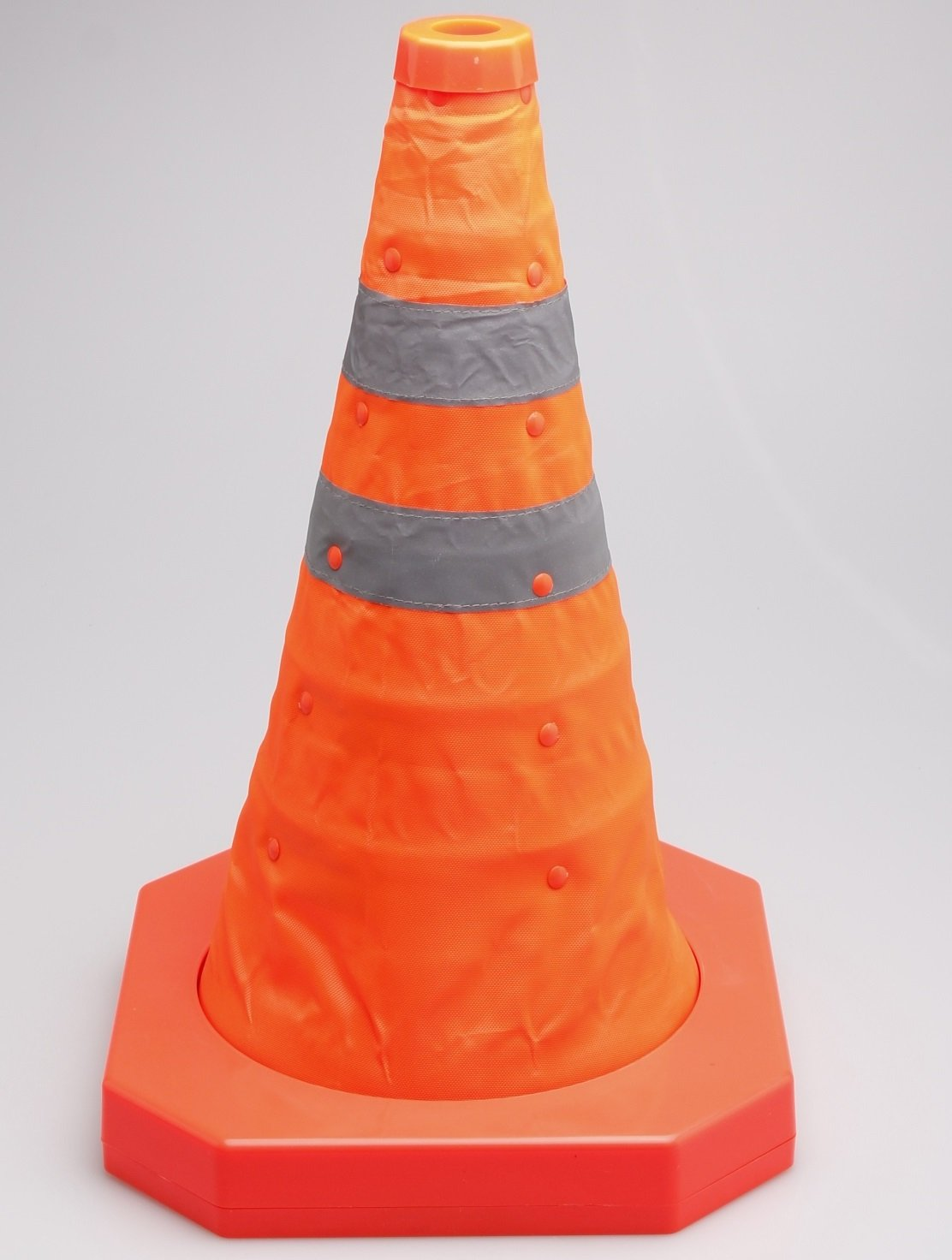 Cartman Collapsible Traffic Cone 15,5 Inches, Multi Purpose Pop up Reflective Safety Cone (2pk)