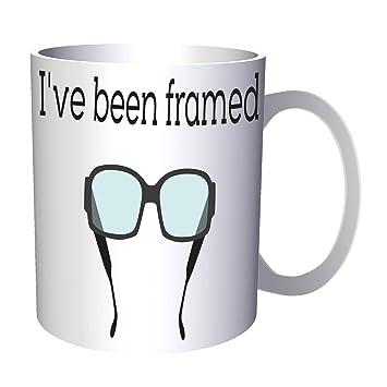 I Ve Been Framed 11oz Mug k905: Amazon.ca: Home & Kitchen