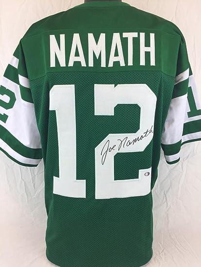JOE NAMATH SIGNED AUTOGRAPHED JERSEY JSA COA NAMATH HOLOGRAM NY ...