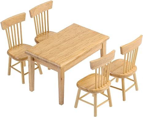 1//12 Dollhouse Miniature Furniture Wood Table Mini P0G4 Room Cabinet Living S2O0