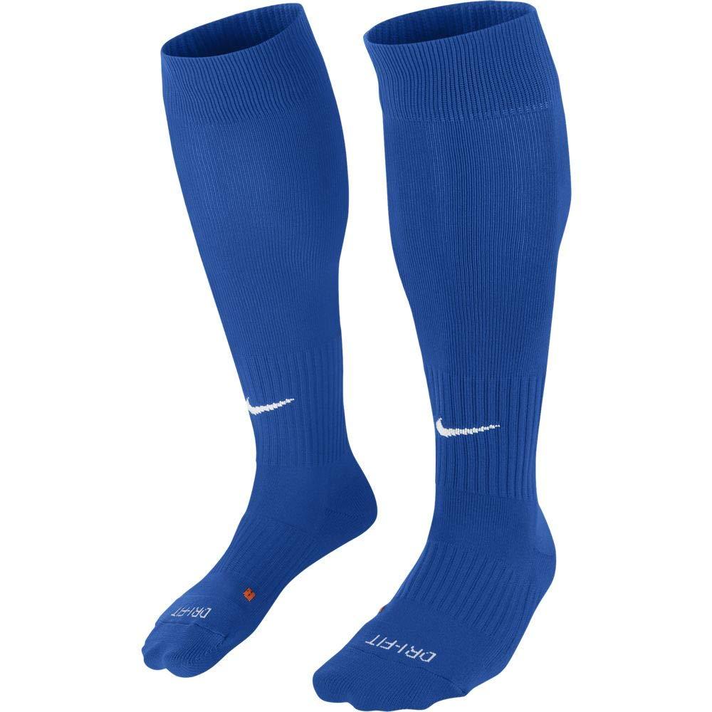 Nike Classic II Cushion Over-the-Calf Soccer Football Sock (Royal Blue/White, L) by Nike