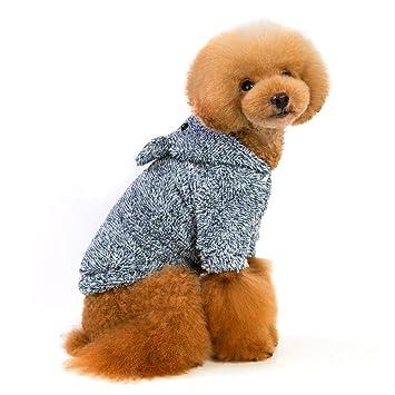 Foonee Disfraz de Perro, Abrigo de Invierno Cálido Perro Suéter de Perro Chaqueta de Perro