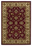 Cheap KAS Oriental Rugs Lifestyles Collection Kashan Area Rug, 2'7″ x 4'1″, Red/Ivory