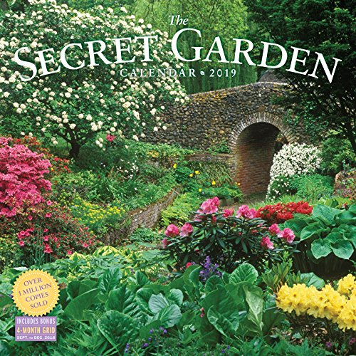 Secret Garden 2019 Calendar (Garden Calendar)