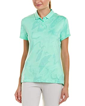 Nike Dry Shortsleeve Summer Print Golf Polo 2018 Women Green Glow ...