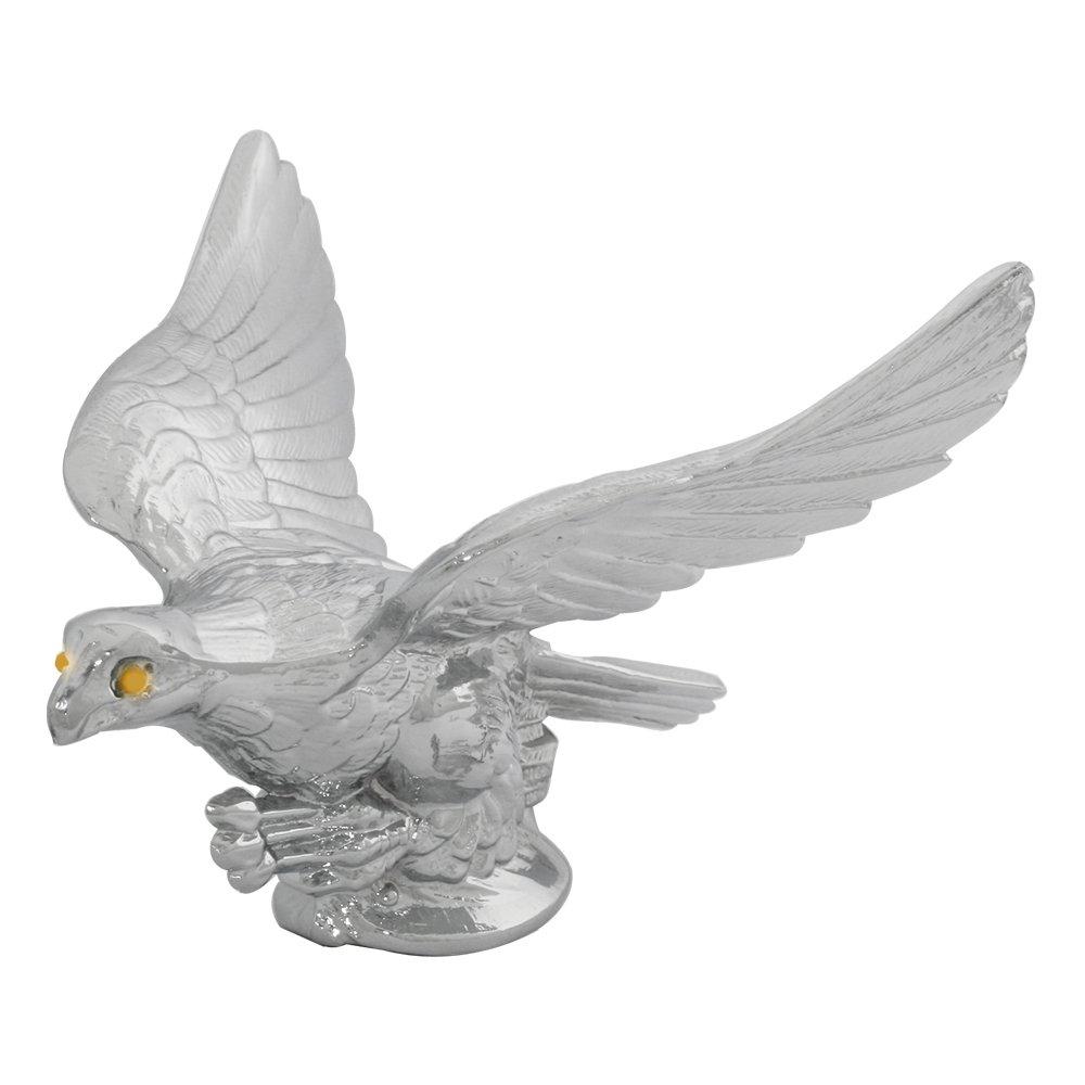 Grand General 48030 Chrome American Eagle Hood Ornament