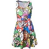 Super Mario Characters - Allover Kleid multicolour