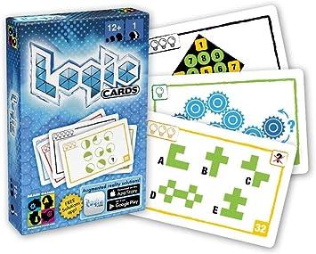 Mercurio 599386031 - Logic Cards Azul: Amazon.es: Juguetes y juegos