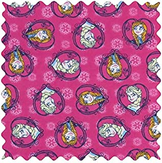 product image for SheetWorld Anna & Elsa Fabric - By The Yard