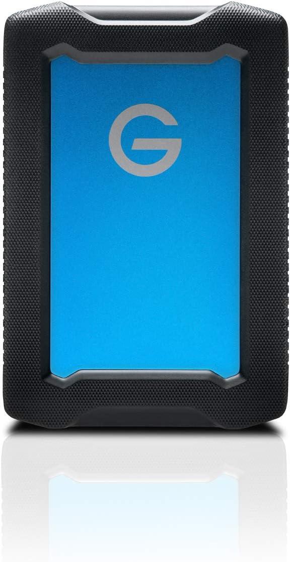 G-Technology 1TB ArmorATD All-Terrain Rugged Portable External Hard Drive - USB-C, Thunderbolt 3, USB 3.0 - 0G10433-1